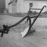 View of a Farmer's Plow Photographic Print by Wallace Kirkland