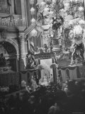 Interior View of St. Peter's Church During Mother Cabrini's Canonization Photographic Print by John Phillips