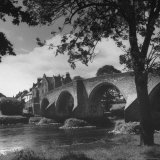 Lovely 14th Century Bridge Still Used For Pedestrians Photographic Print by Hans Wild