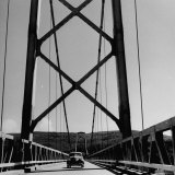 Peace River Bridge Along the Alcon Highway Photographic Print by J. R. Eyerman