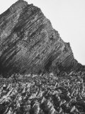 Gorgeous View of British Isles' Coastline of Strange Jagged Rock Formations Premium Photographic Print by Nat Farbman