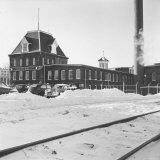American Woolen Company's Puritan Mills Factory Photographic Print by Walker Evans