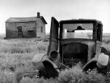 Abandoned Farm in Dust Bowl Photographic Print by Alfred Eisenstaedt