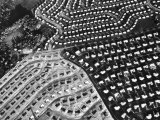Aerial View of Suburban Housing Development under Construction Premium Photographic Print by Margaret Bourke-White