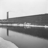 American Woolen Company Mill Photographic Print by Walker Evans