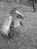 Bird Toy Made to Wear For Children by Charles Eames Premium Photographic Print by Allan Grant