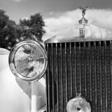 Detail of a 1930 Rolls Royce Mulliner Continental Tourer Photographic Print by Walker Evans