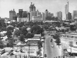 Dallas Skyline Premium Photographic Print by Alfred Eisenstaedt