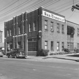 The Paducah Sun Democrat Building, Owned by Edwin J. Paxton and Son Edwin, Jr Photographic Print by Walker Evans