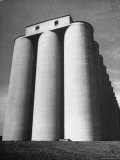 Large Grain Elevator Terminal Called the Commander Premium Photographic Print by Gordon Coster