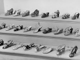 Display of Ferragamo Shoes Photographic Print by Alfred Eisenstaedt