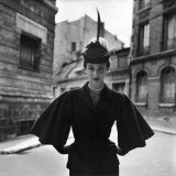 Woman Modeling a Full Sleeved Suit Photographic Print by Gordon Parks