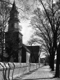 Bruton Parish Church Photographic Print by Alfred Eisenstaedt