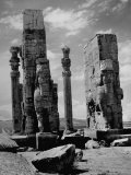 Gate of Xerxes in Ruins of the Ancient Persian City of Persepolis Premium Photographic Print by Dmitri Kessel