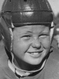 Alex Lindsay Jr, 10, Member of the Young America League, Who Plays Football For the Wolf Pack Club Premium Photographic Print by Alfred Eisenstaedt