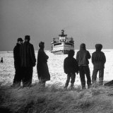 Nantucket in Winter Photographic Print by Alfred Eisenstaedt