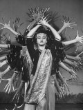 Dancer Elizabeth Guasch During the Philippine Festival Premium Photographic Print by Ralph Crane