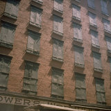 Shuttered Warehouse on Worth Street Lit by Late Day Sunlight Photographic Print by Walker Evans