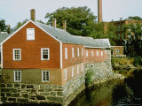 19th Century Mill Storehouse Along the Squamscott River Premium Photographic Print by Walker Evans