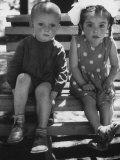 Kindergarten Children of Mixed Russian Nationalities Premium Photographic Print by Stan Wayman