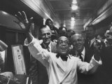 Party Aboard New Haven Train Photographic Print by Peter Stackpole