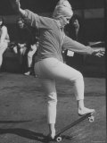 "Expert ""Skater"" Pat McGee in National Skateboard Championship Photographic Print by Bill Eppridge"