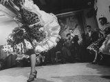 Female Gypsy Dancer Premium Photographic Print by Loomis Dean