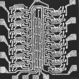 Photographically Produced Computer Circuit Magnified 40 Times Fotografisk tryk af Henry Groskinsky