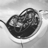 Dashboard of Older Model Rolls Royce Convertible Photographic Print by Walker Evans