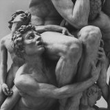 "Detail Sculpture ""Ugolino"" by Jean Baptiste Carpeaux at Music Des Beaux Arts Photographic Print by Carlo Bavagnoli"