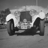 Photograph of a 1930 Rolls-Royce Phantom II Mulliner Continental Tourer, c.1958 Photographic Print by Walker Evans