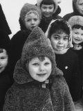 American Tamara Shirokov at a Soviet State Kindergarten Premium Photographic Print by Stan Wayman