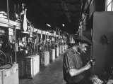 Ball Bearing Plant in Moscow Premium Photographic Print by James Whitmore