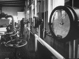 Central Pumping Station of the Ufa Refinery Premium Photographic Print by James Whitmore