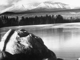 Baxter State Park with Mt. Katahdin in Distance Photographic Print by Fritz Goro