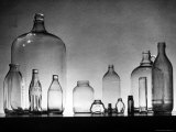 Manufacture and Examples of Uses of Various Kinds of Glass at Corning Glass Co Premium Photographic Print by Andreas Feininger