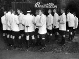 Beautillion Party, Young Men Wearing White Jackets, Bermuda Shorts and Knee Length Socks Premium Photographic Print by Francis Miller
