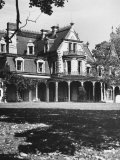Lockwood Mathews Mansion, Built in 1860 Premium Photographic Print by Walker Evans