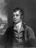Portrait of Robert Burns, Scottish Poet Photographic Print