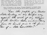 """Facsimile is the Famous """"Freeport Question"""" in Abrahams Lincoln Handwriting Premium Photographic Print by Al Fenn"""