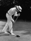 Croquet Tournament, England Reproduction photographique sur papier de qualité par Terence Spencer
