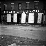 Waterfront Building, Atlantic Lunch, Scheduled to Be Demolished During Urban Renewal Photographic Print by Walker Evans