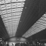 Interior of Union Station, Showing Detail of Glass and Iron Vaulted Ceiling Photographic Print by Walker Evans