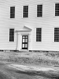 Facade of Rocky Hill Meeting House, Example of Colonial Architecture, Dating from 1785 Premium Photographic Print by Walker Evans