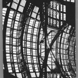 Penn Station's Waiting Room's Glass and Steel Ceiling Photographic Print by Walker Evans