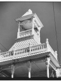 Gingerbread Cupola on 1861 Firehouse Premium Photographic Print by Walker Evans