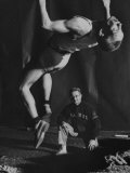 Dickie Browning of University of Illinois, Tumbling High Jumper Premium Photographic Print by Francis Miller