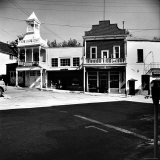 Gingerbread Victorian Firehouse on Main Street of Small Town Photographic Print by Walker Evans