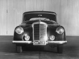 Front Shot of a German Made Mercedes Benz Automobile Photographic Print by Ralph Crane