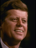 President Candidate John F. Kennedy Attending the Democratic National Convention Photographic Print by Paul Schutzer